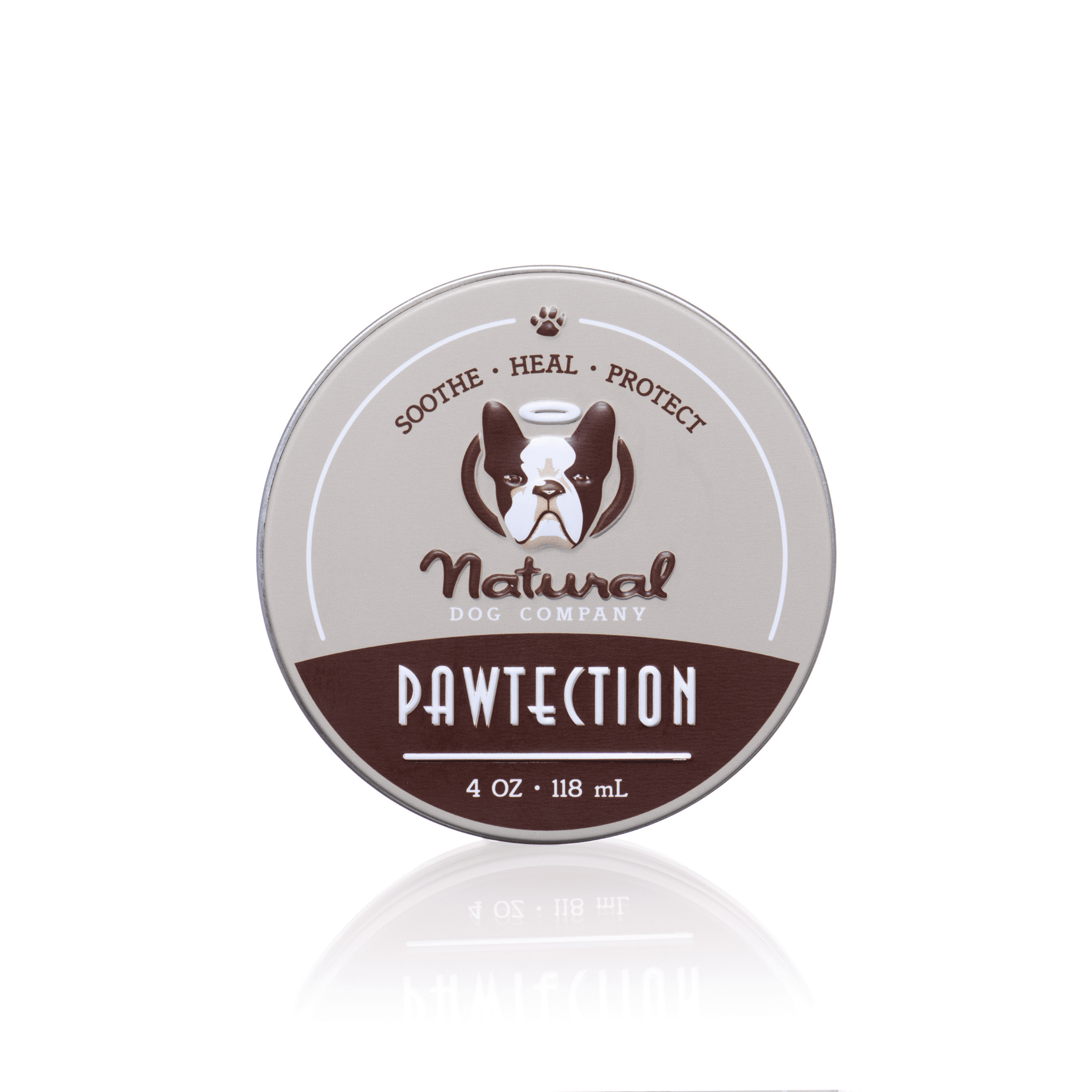Natural Dog Company Pawtection 4oz tin